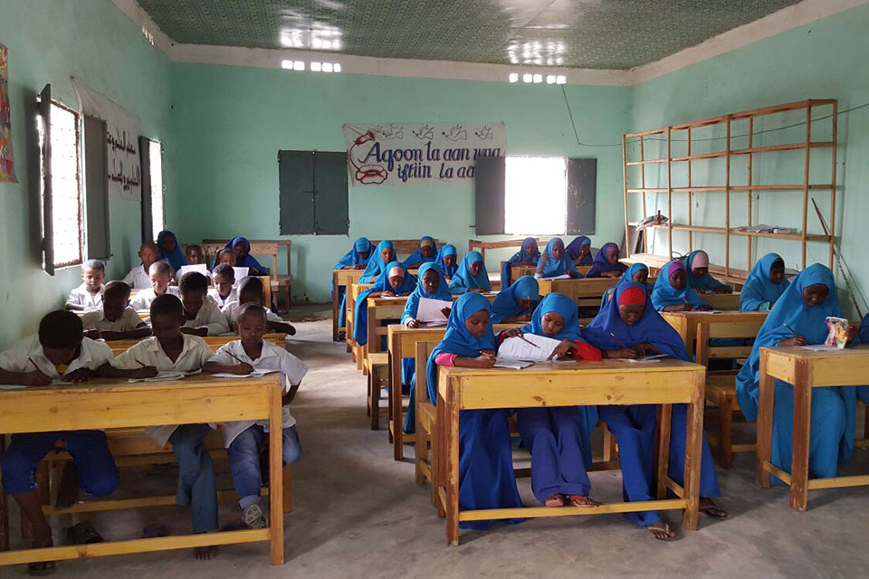 Students Create Human Rights Curriculum in Hope Village, Somalia