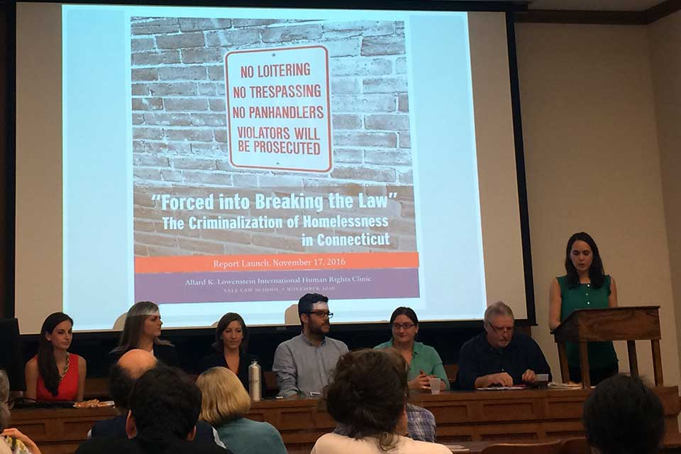 Clinic Hosts Panel on Criminalization of Homelessness