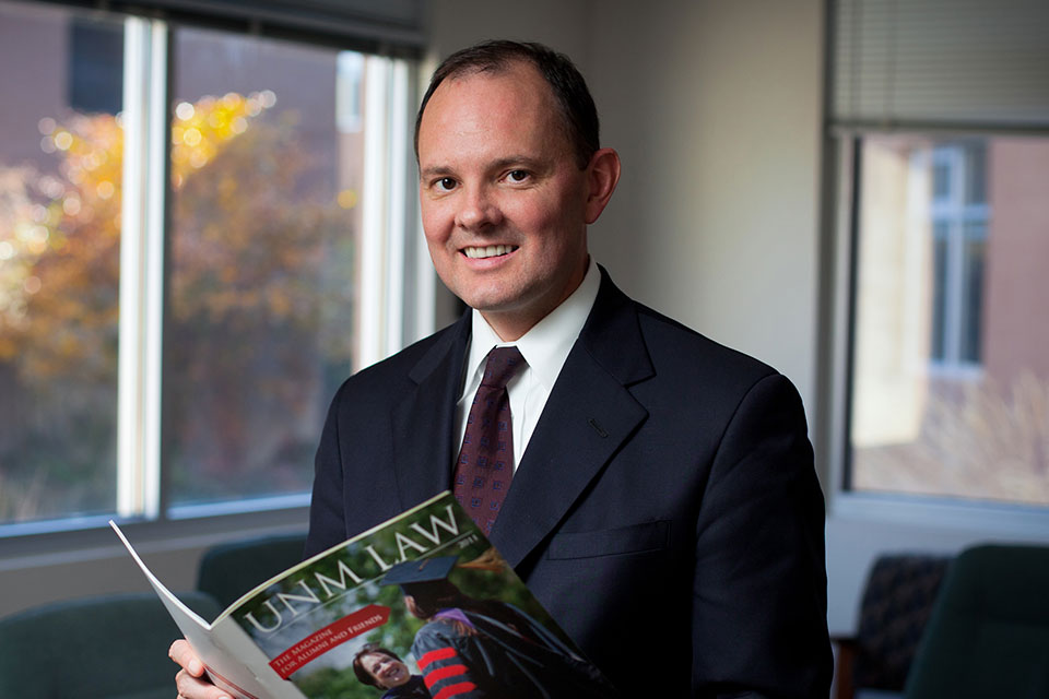 Law Professor Kevin Washburn to Give Dean's Lecture October 17