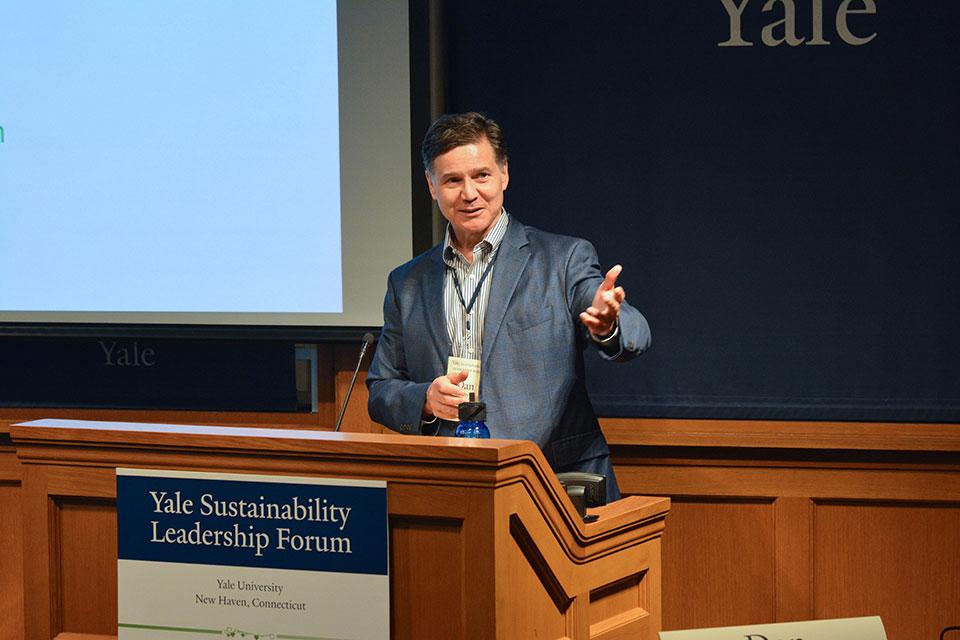 Inaugural Yale Sustainability Leadership Forum Held in September